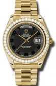 Rolex Day-Date 218348 bkcap Yellow Gold