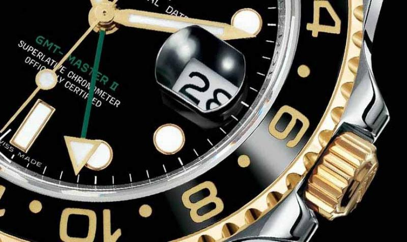 116713LN Rolex Steel and Yellow Gold GMT-Master II
