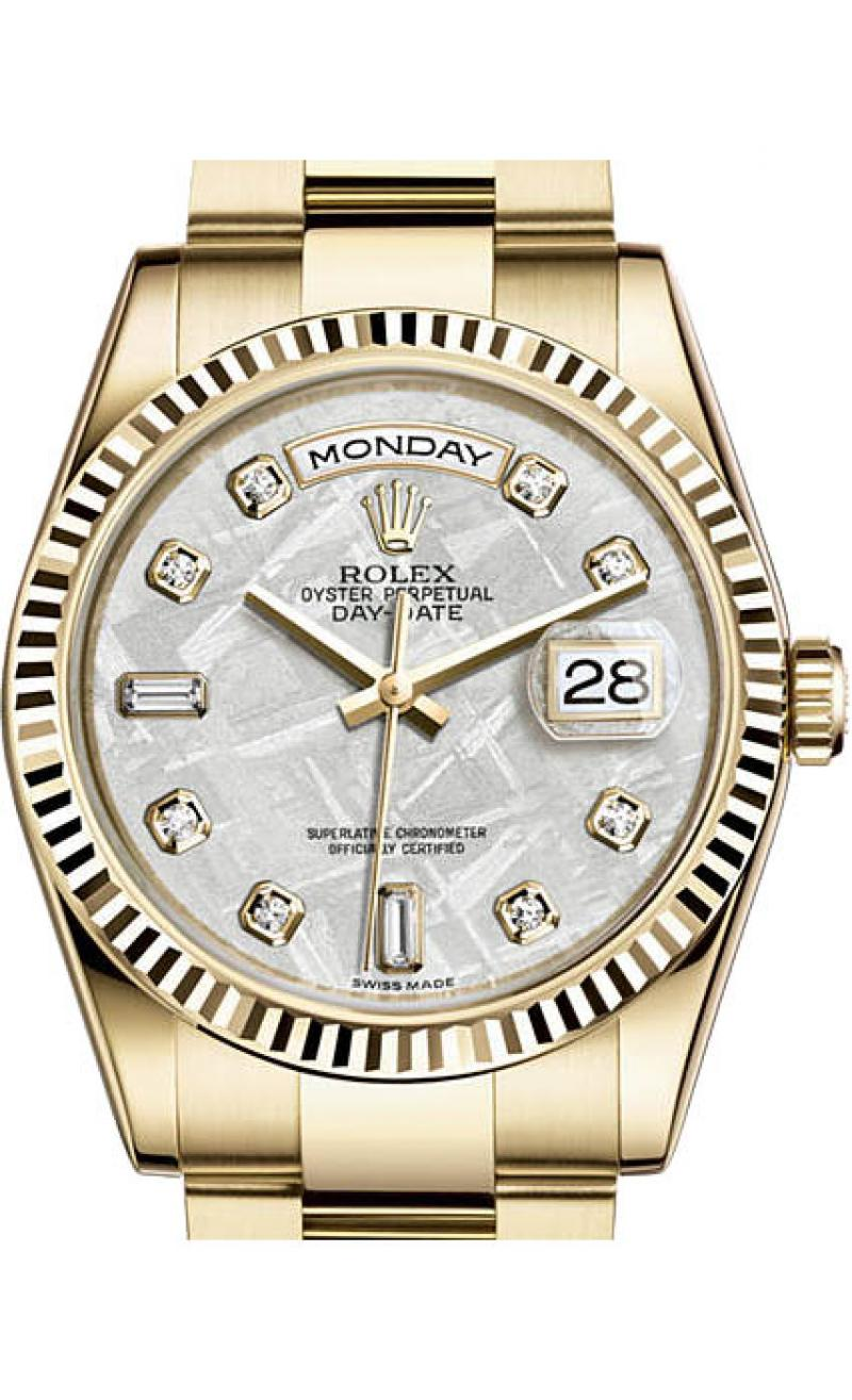 118238 mtdo Rolex Yellow Gold Day-Date
