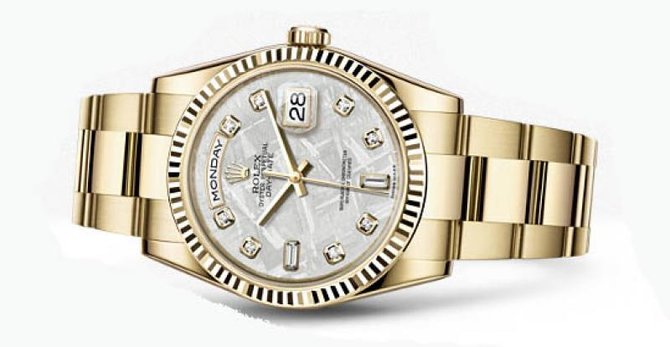 Rolex 118238 mtdo Day-Date Yellow Gold - фото 2