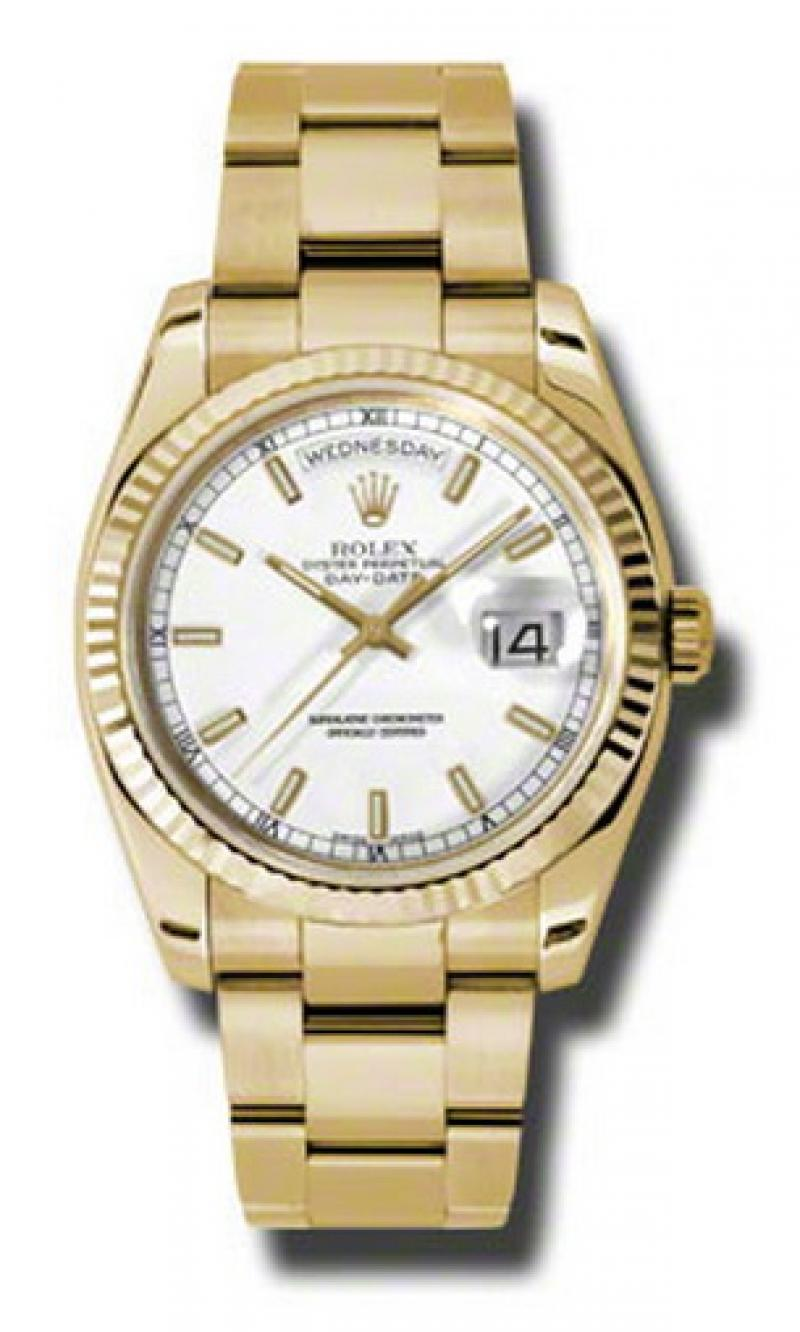 118238 wso Rolex Yellow Gold Day-Date
