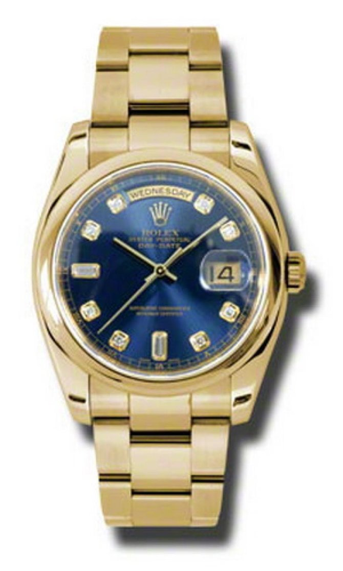 118208 bdo Rolex Yellow Gold Day-Date
