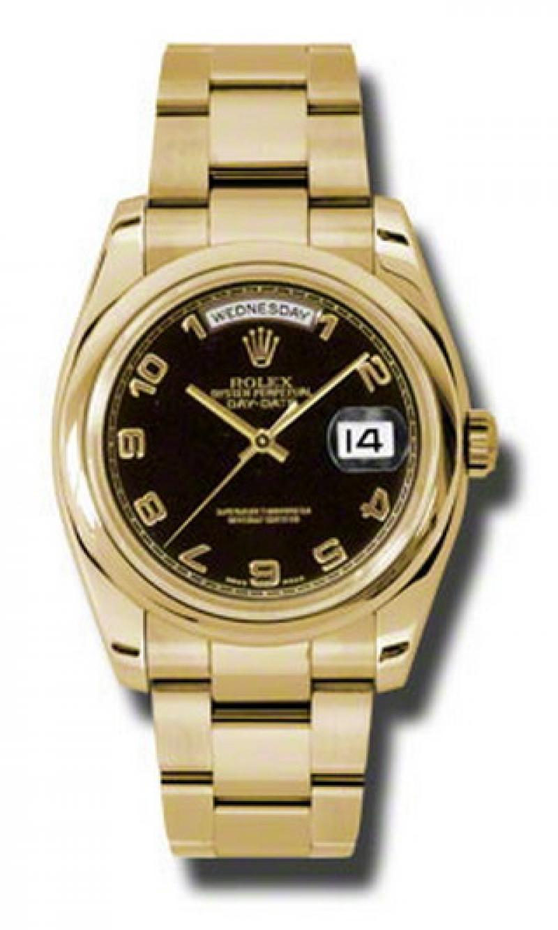 118208 bkao Rolex Yellow Gold Day-Date