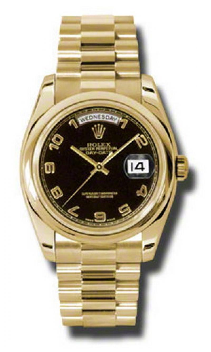 118208 bkap Rolex Yellow Gold Day-Date