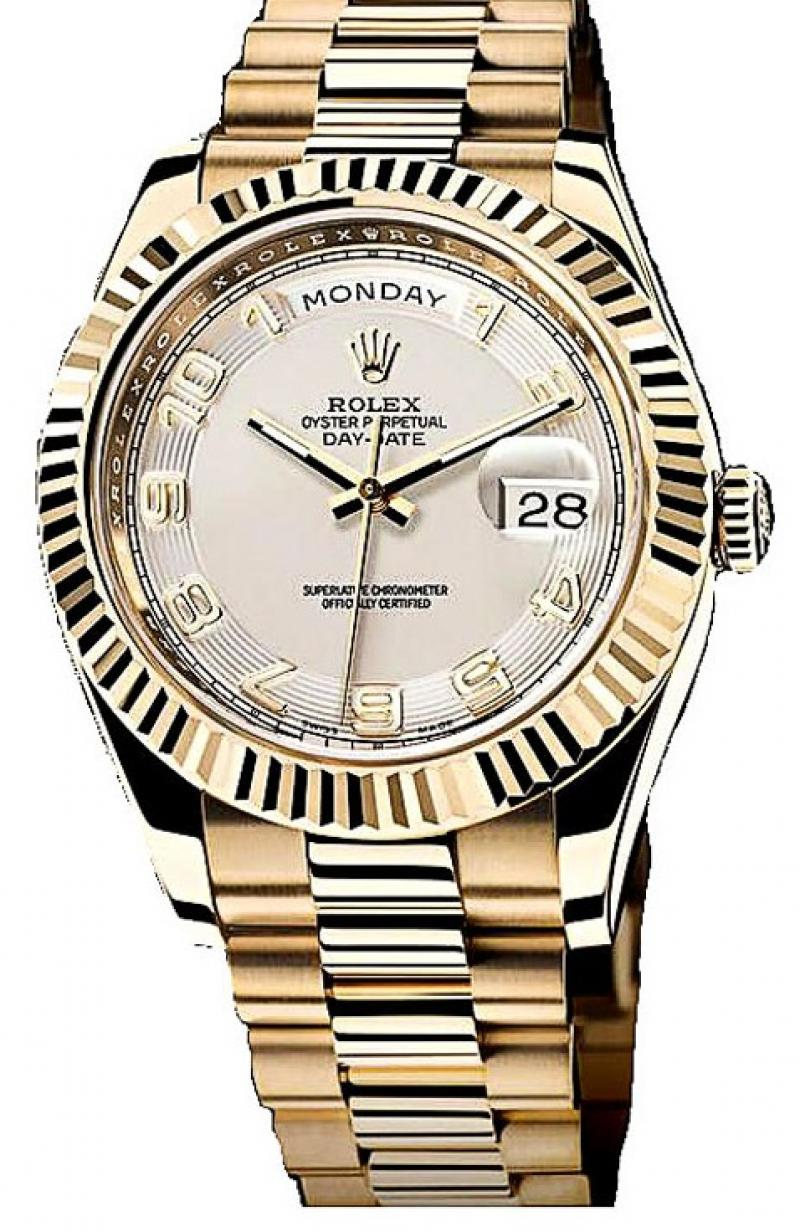 218238 ivory Rolex Yellow Gold Day-Date