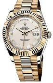 Rolex Day-Date 218238 ivory Yellow Gold