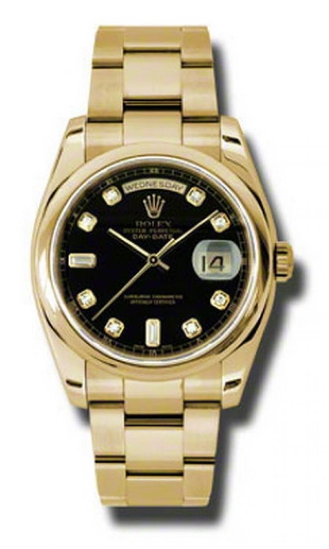 118208 bkdo Rolex Yellow Gold Day-Date