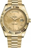 Rolex Day-Date 218238 chrp Yellow Gold