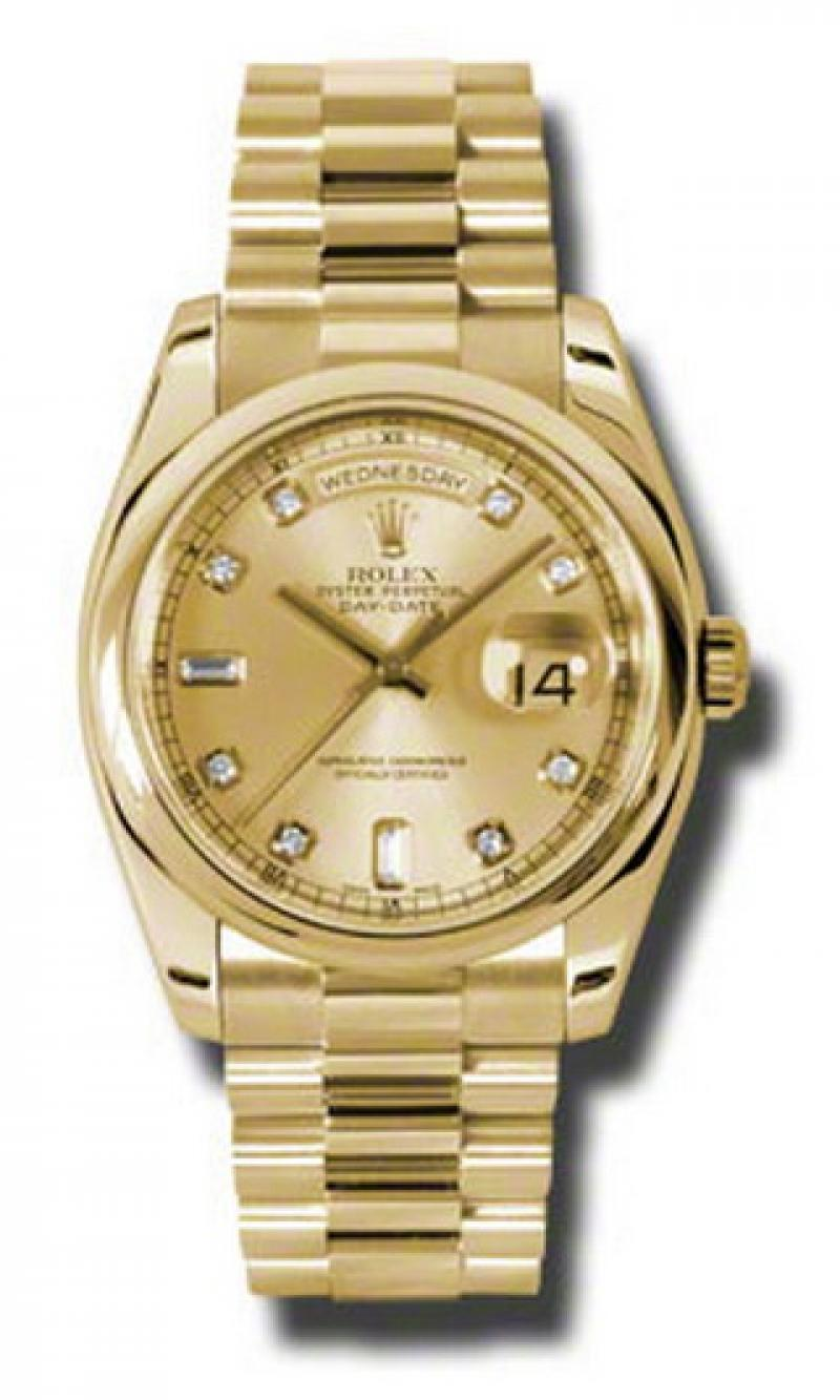 118208 chdp Rolex Yellow Gold Day-Date