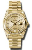 Rolex Day-Date 118208 chjdp Yellow Gold