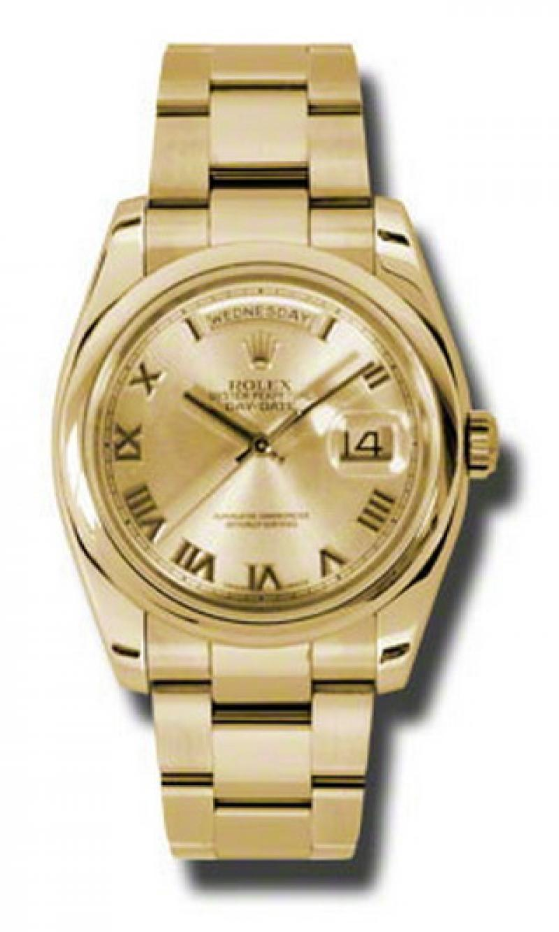 118208 chro Rolex Yellow Gold Day-Date