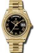 Rolex Day-Date 218238 bkrp Yellow Gold