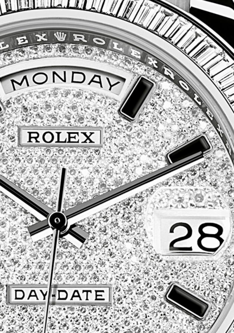 218399-83219 Rolex White Gold Day-Date