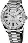 Rolex Day-Date 218399-83219 White Gold