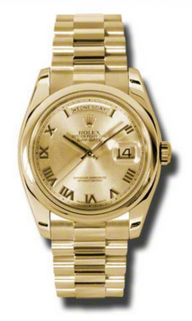 118208 chrp Rolex Yellow Gold Day-Date