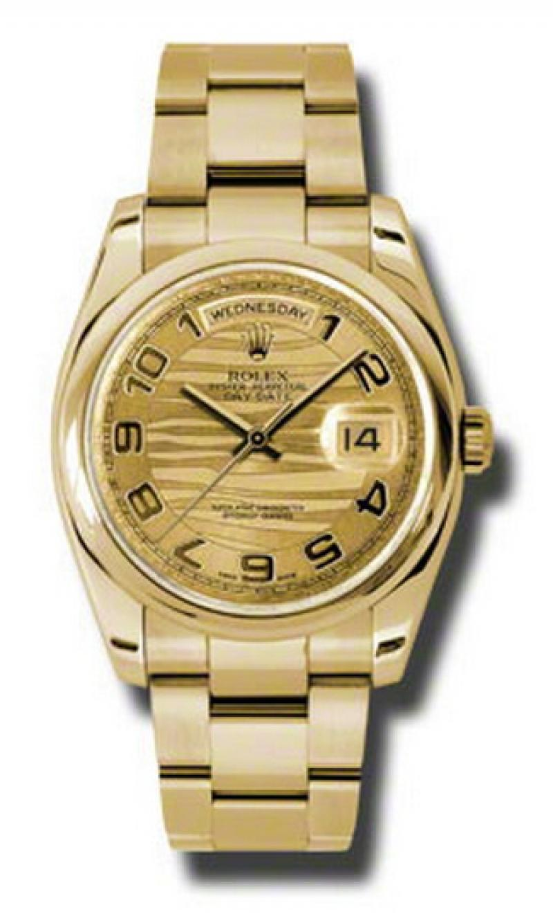 118208 chwao Rolex Yellow Gold Day-Date