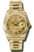 Rolex Day-Date 118208-chwap Yellow Gold