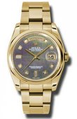 Rolex Day-Date 118208 dkmdo Yellow Gold