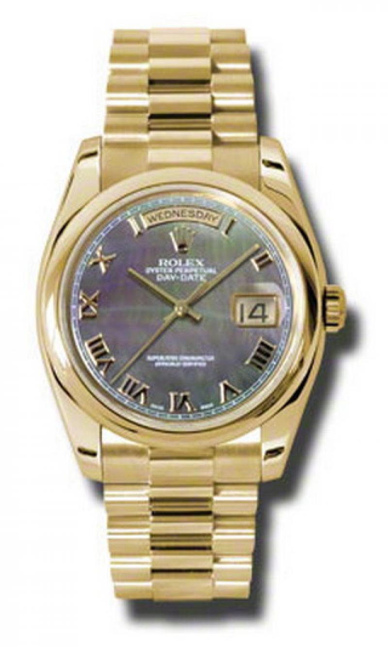 118208 dkmrp Rolex Yellow Gold Day-Date