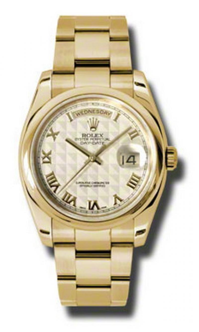 118208 ipro Rolex Yellow Gold Day-Date