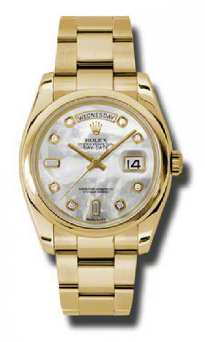 118208 mdo Rolex Yellow Gold Day-Date