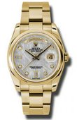 Rolex Day-Date 118208 mtdo Yellow Gold