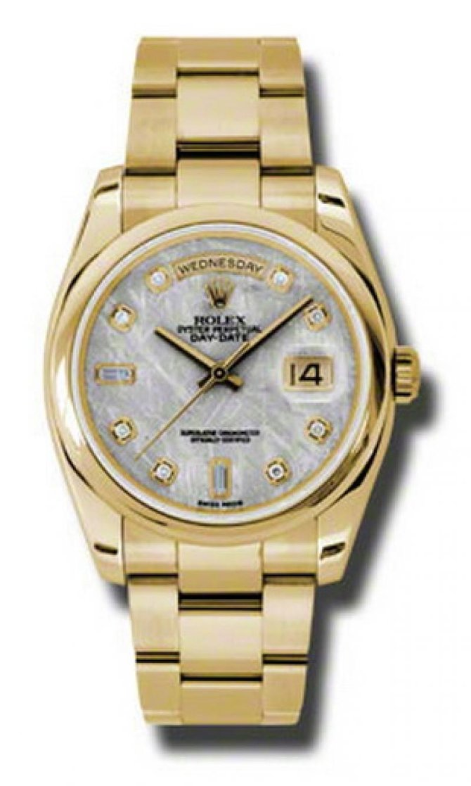 118208 mtdo Rolex Yellow Gold Day-Date