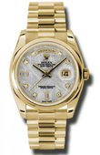 Rolex Day-Date 118208 mtdp Yellow Gold