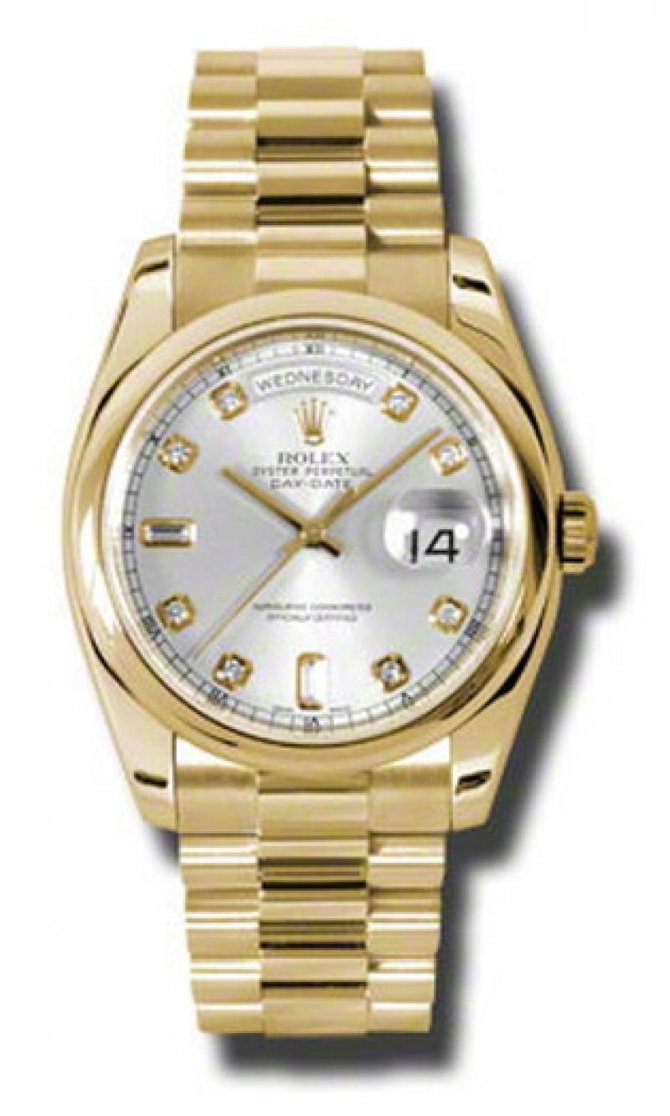 118208 gdp Rolex Yellow Gold Day-Date