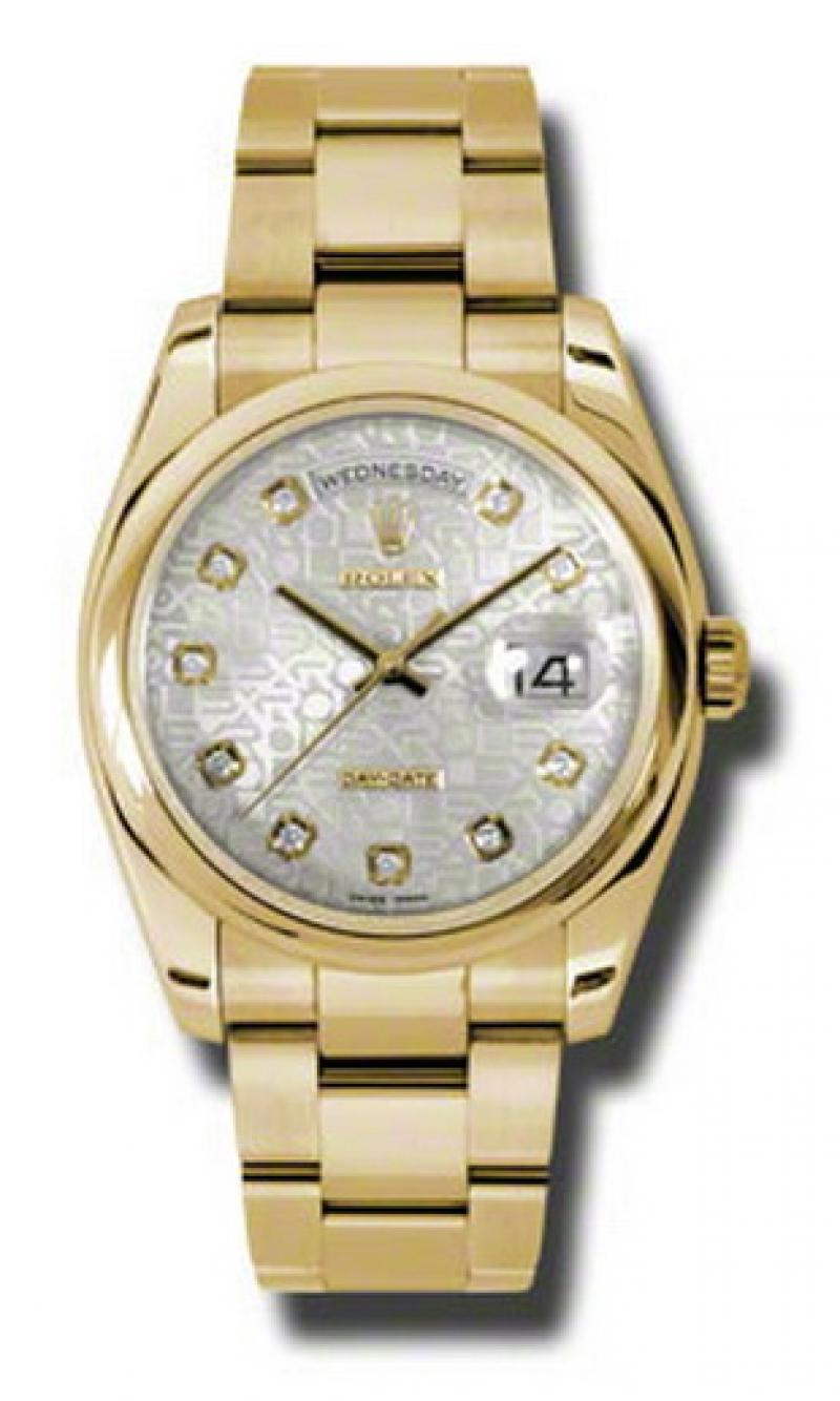 118208 sjdo Rolex Yellow Gold Day-Date