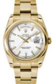 Rolex Day-Date 118208 white Yellow Gold