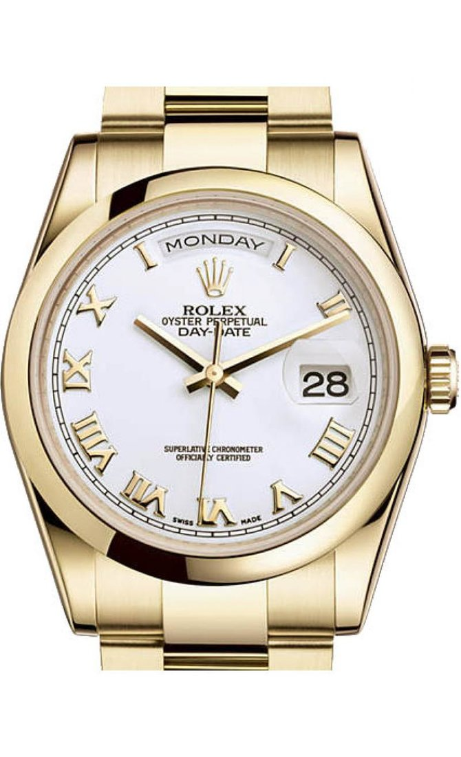 Rolex 118208 wro Day-Date Yellow Gold - фото 1