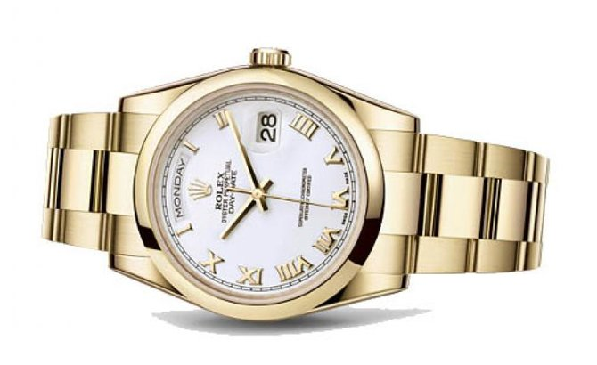 Rolex 118208 wro Day-Date Yellow Gold - фото 2