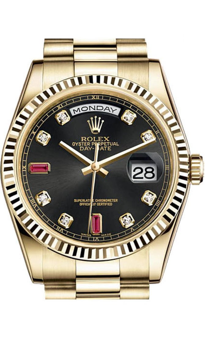 118238 Rolex Yellow Gold Day-Date