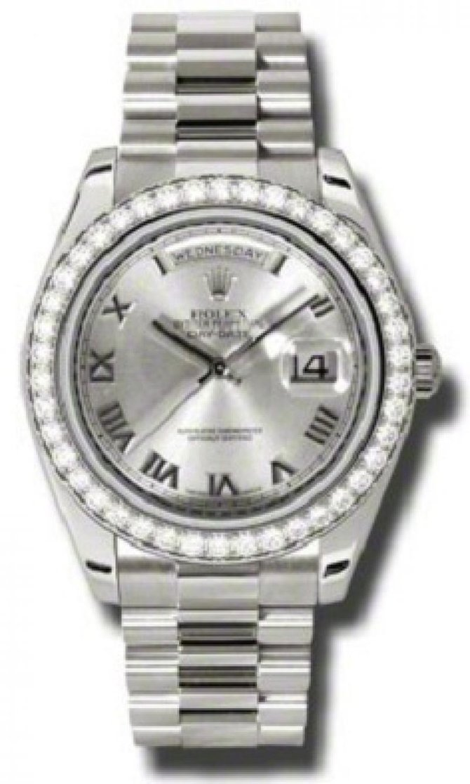 Rolex 218349 rrp Day-Date White Gold - фото 1