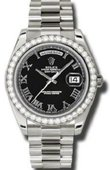 Rolex Day-Date 218349 bkrp White Gold