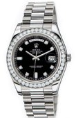 Rolex Day-Date 218349 bkdp White Gold