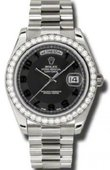 Rolex Day-Date 218349 bkcap White Gold