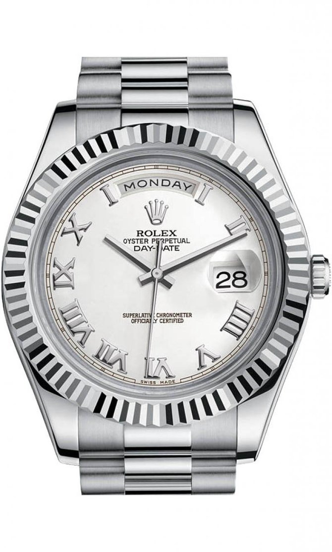 218239 wrp Rolex White Gold Day-Date