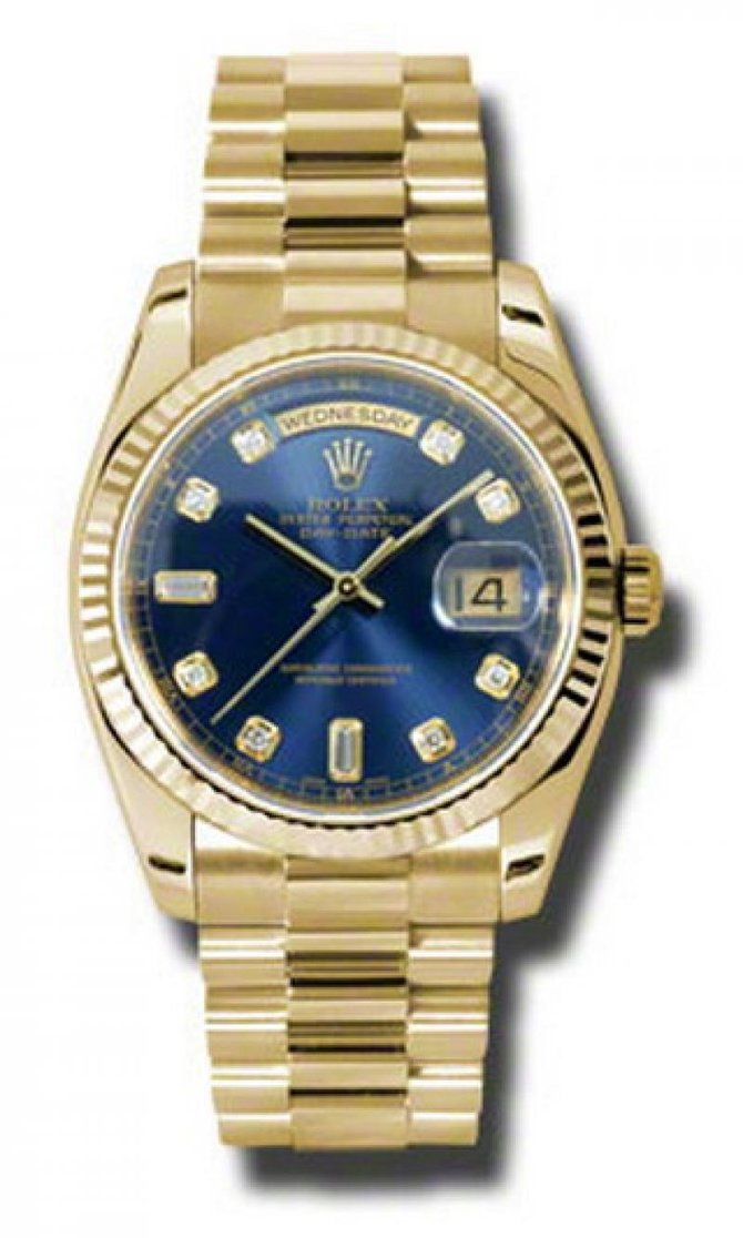 118238 bdp Rolex Yellow Gold Day-Date