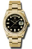 Rolex Day-Date 118238 bkdo Yellow Gold