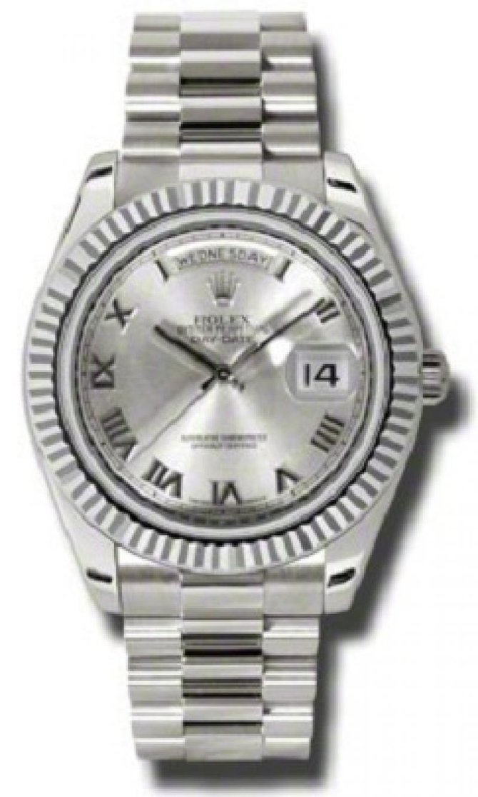 218239 rrp Rolex White Gold Day-Date