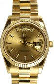 Rolex Day-Date 118238 champagne Yellow Gold