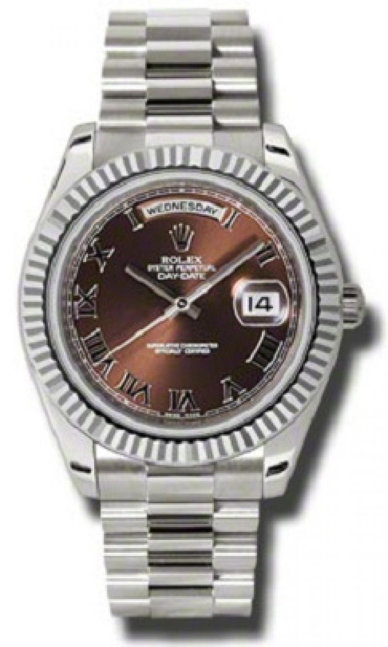 218239 brrp Rolex White Gold Day-Date