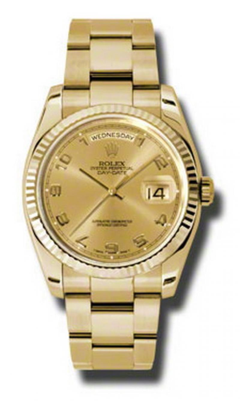 118238 chao Rolex Yellow Gold Day-Date