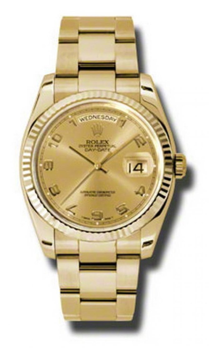 Rolex 118238 chao Day-Date Yellow Gold - фото 1