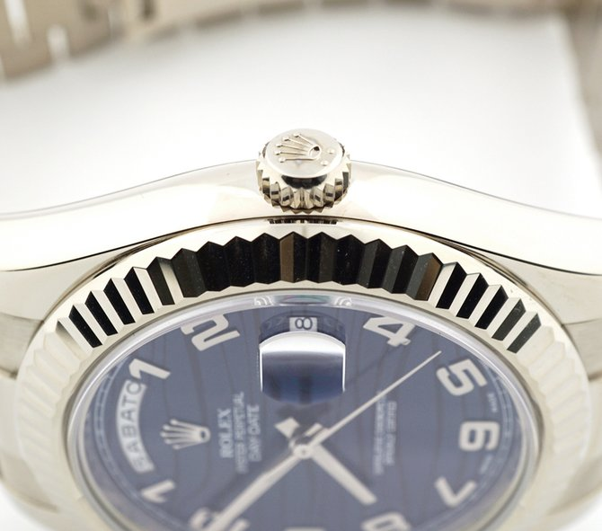 Rolex 218239 blwap Day-Date White Gold - фото 3