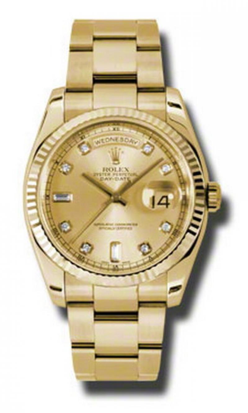 118238 chdo Rolex Yellow Gold Day-Date