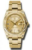 Rolex Day-Date 118238 chdo Yellow Gold