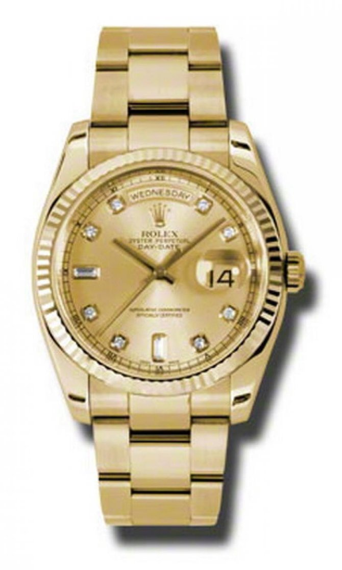 Rolex 118238 chdo Day-Date Yellow Gold - фото 1